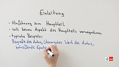checkliste literarische errterung - Literarische Erorterung Beispiel